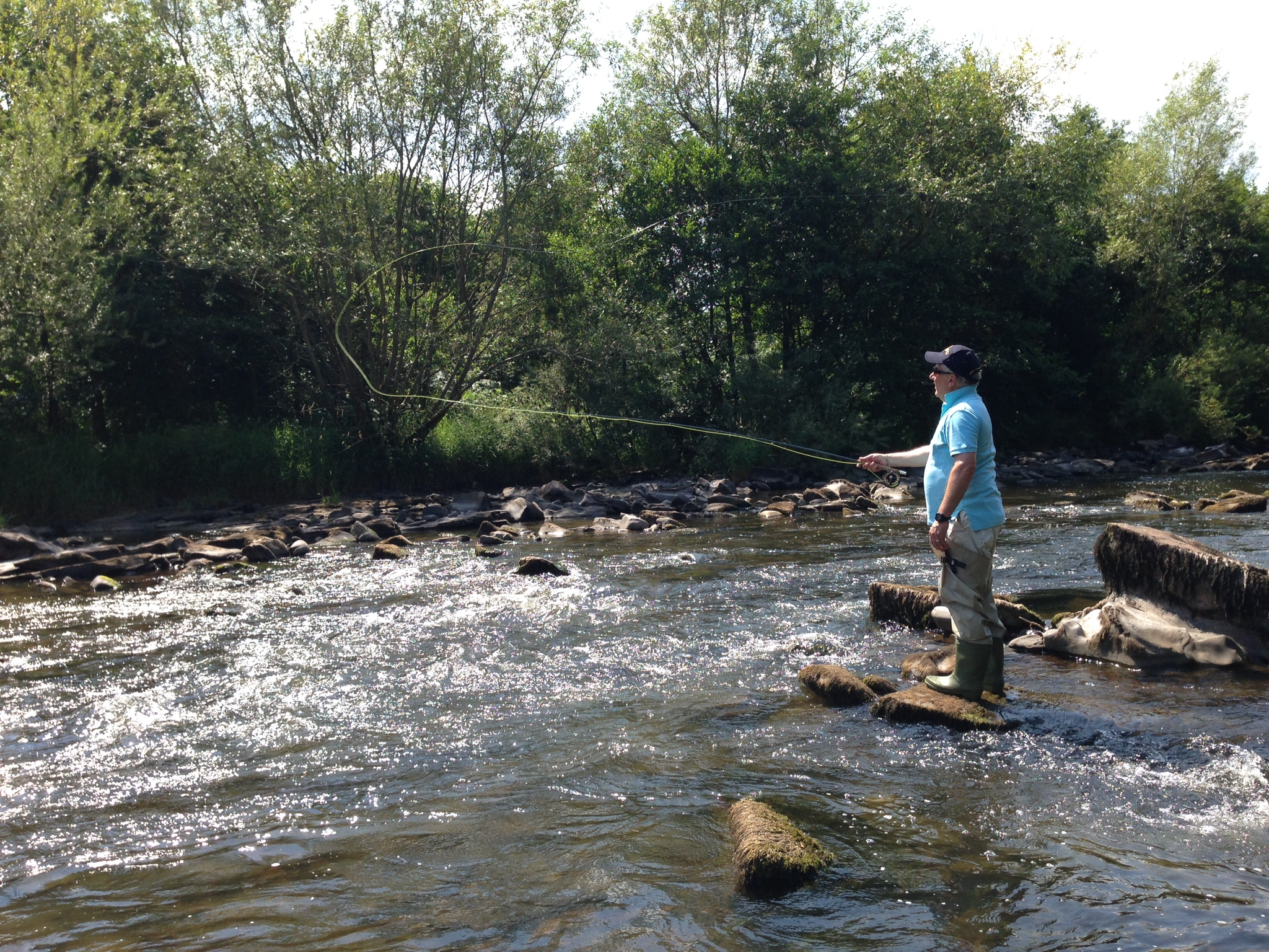 First time river walker lee watts fly fishing for Walker river fishing